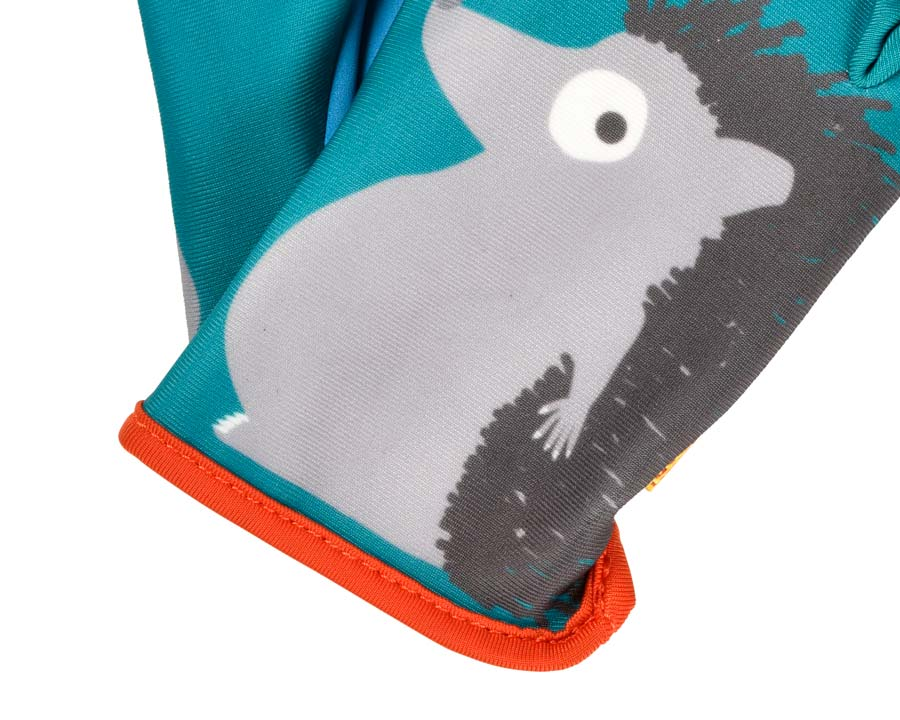 Children's gardening gloves - Hedgehog design  a quality product from the  National Trust.
