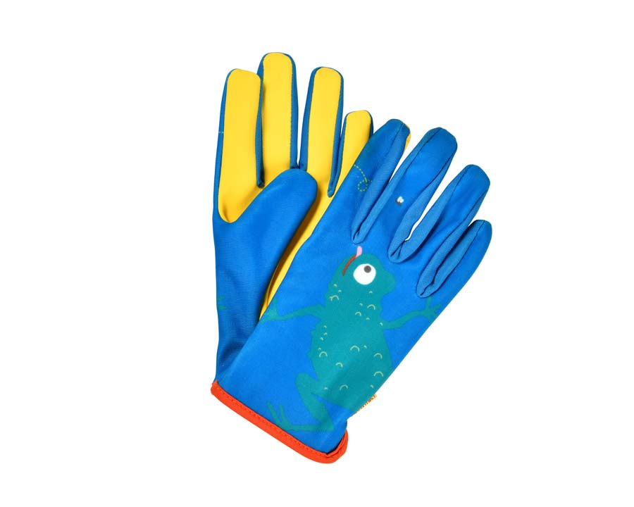 Children's gardening gloves - Frog design part of the National Trust's 'Get them Gardening' Range