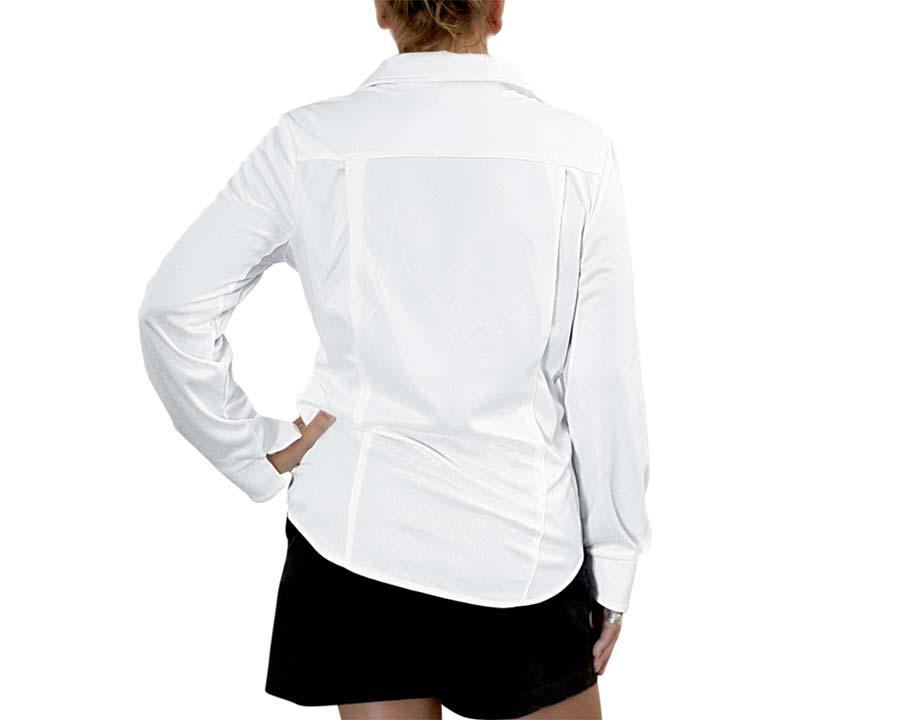 Ladies Outdoor Sun Protection Shirt - White