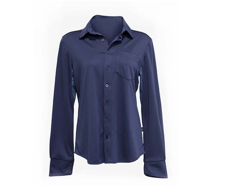 Ladies Outdoor Sun Protection Shirt - Blue