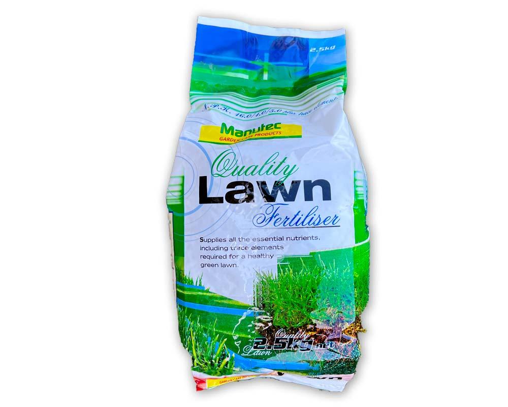 Lawn Fertiliser 2.5kg - Manutec