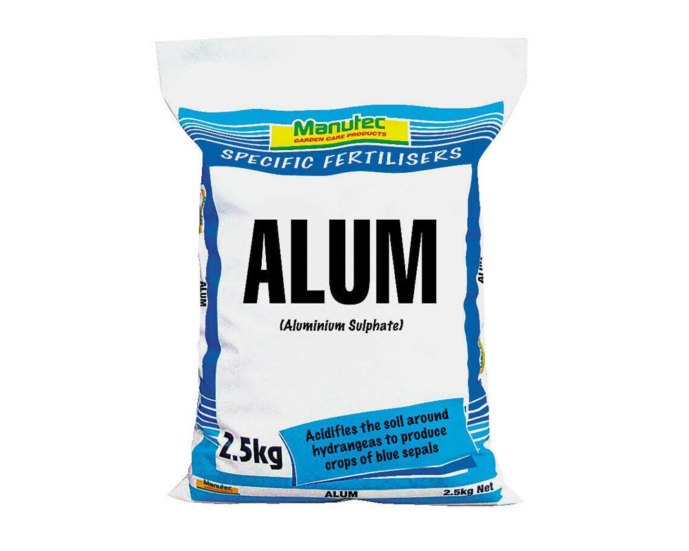 Aluminium Sulphate 2.5kg - Manutec