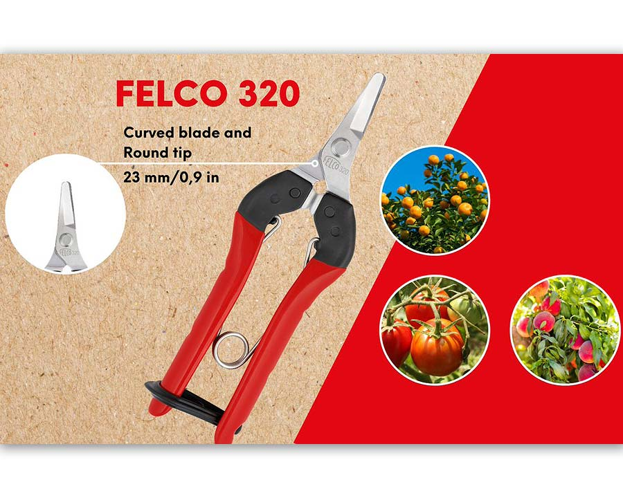Pick and Trim Snips - Felco 320