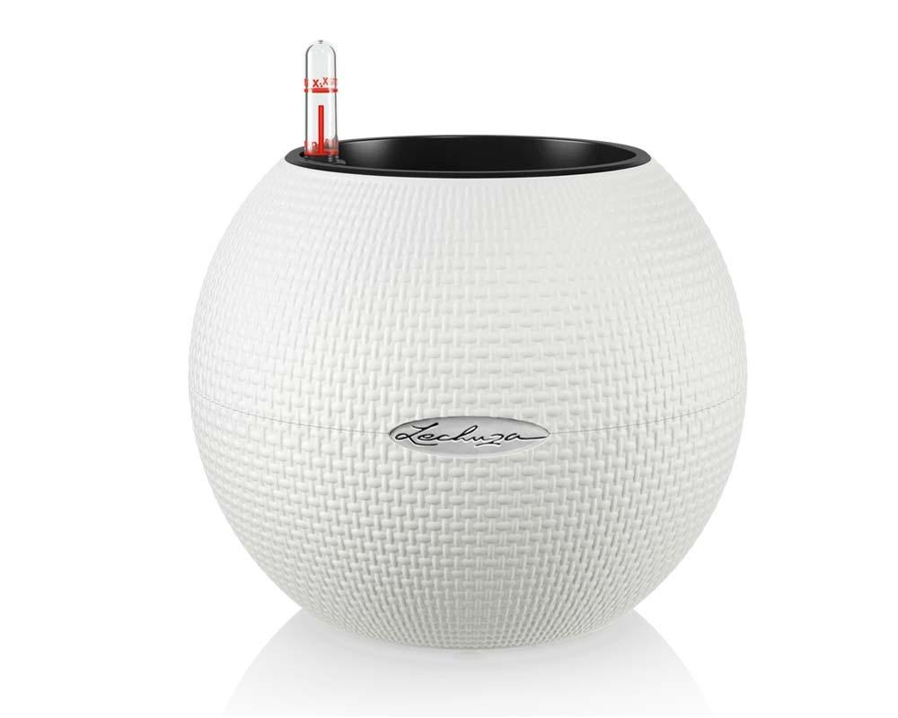 White - Puro Color 20 - Self-Watering Pot - Lechuza