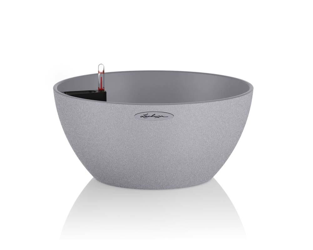 Stone Grey - Cubeto Stone 30 - Self-Watering Pot - Lechuza