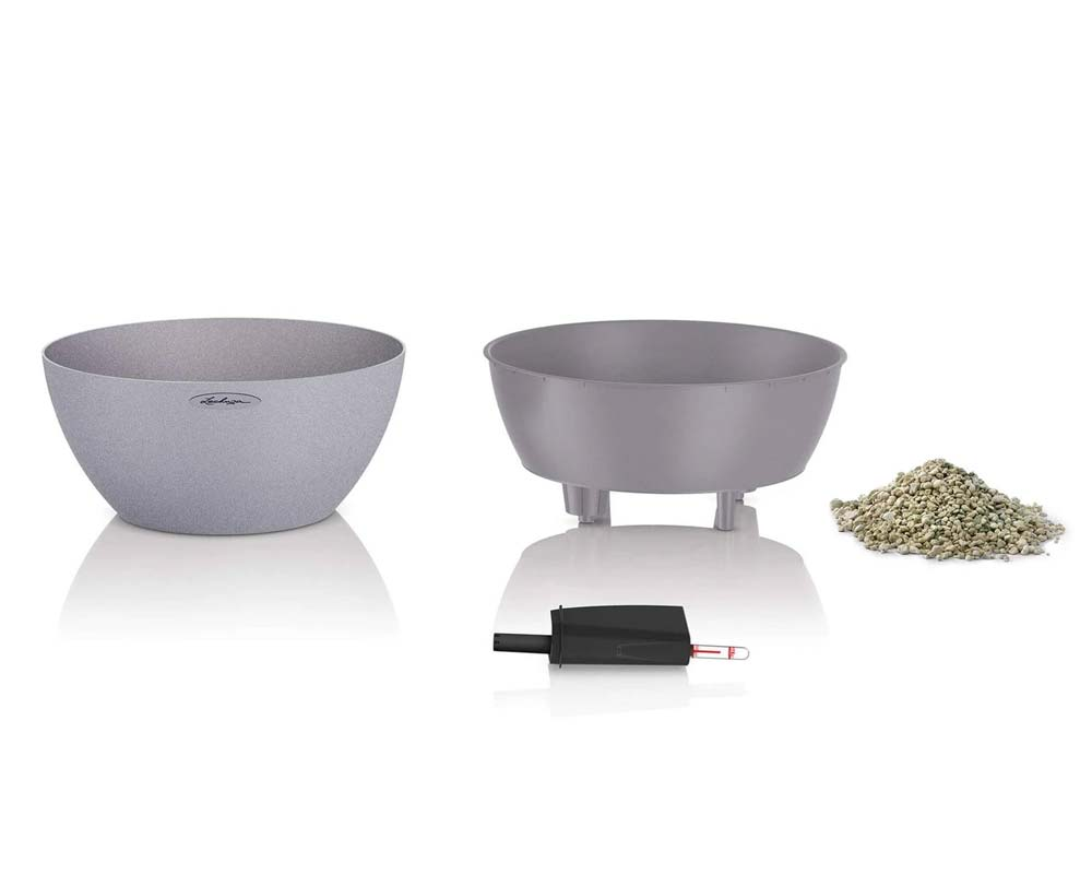 Components - Cubeto Stone 30 - Self-Watering Pot - Lechuza