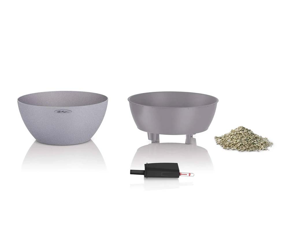 Components - Cubeto Stone 40 - Self-Watering Pot - Lechuza