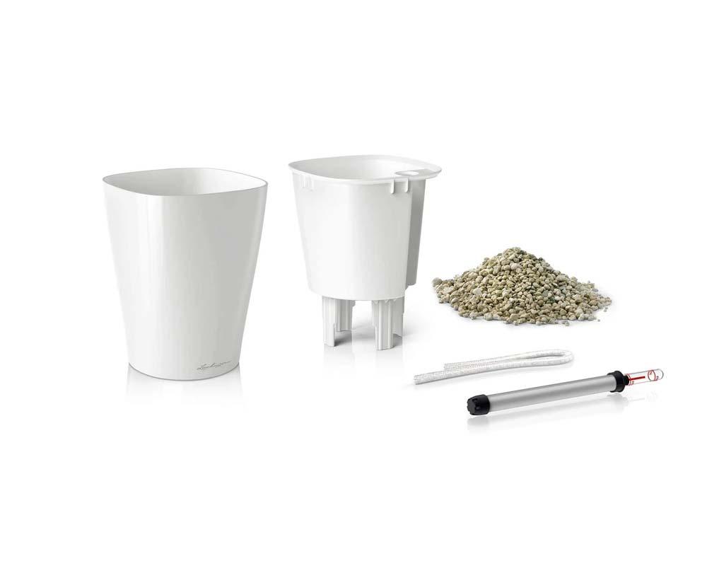 Components - White - Deltini - Self-Watering Pot - Lechuza