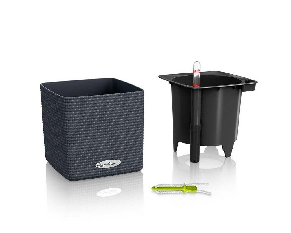 Components - Puro Cube Color 16 - Self-Watering Pot - Lechuza