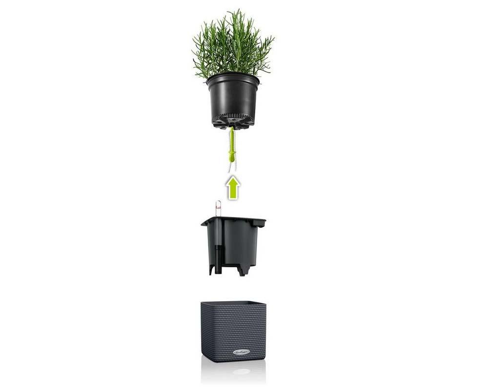 Parts - Puro Cube Color 16 - Self-Watering Pot - Lechuza