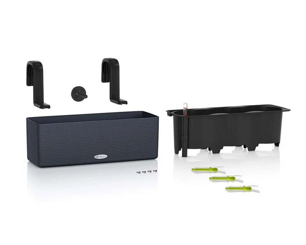 Components - Puro Cube Color Triple - Self-Watering Pot - Lechuza