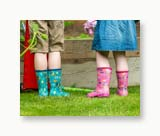 Foxy Gumboots - Pink
