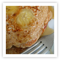 Wholewheat Banana Pancakes