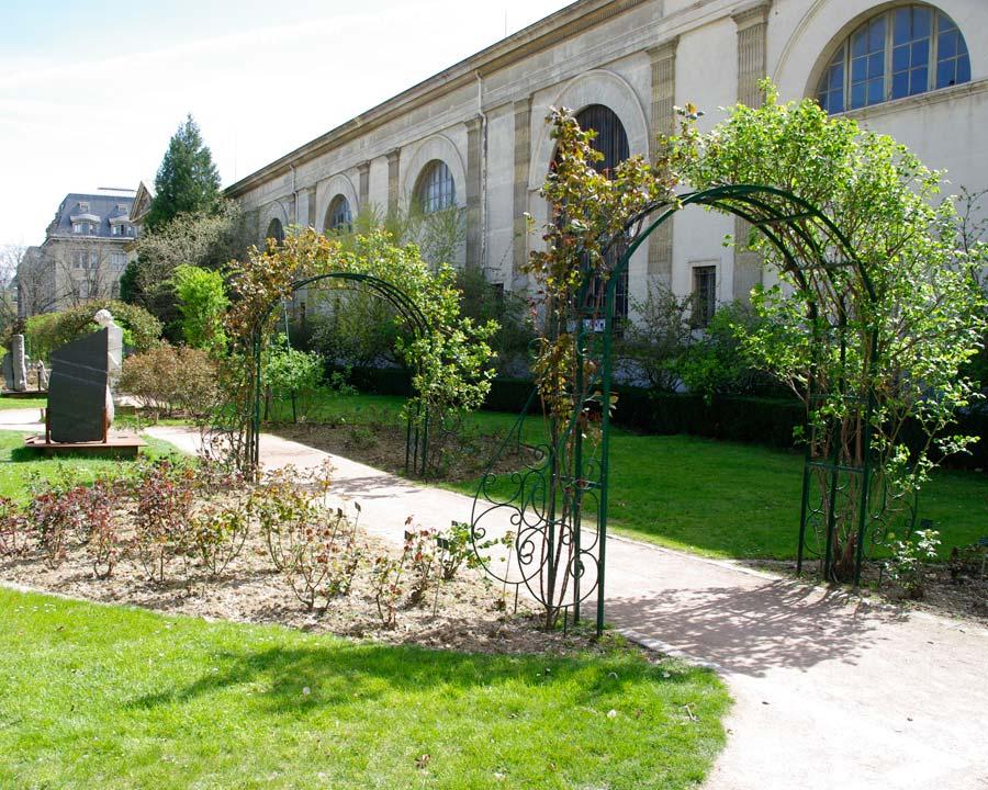 Jardin des Plantes, Paris, Rose Garden