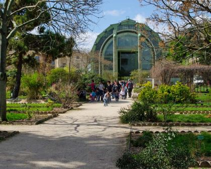 Jardin des Plantes, Paris - one of the first botanical gardens in the world.