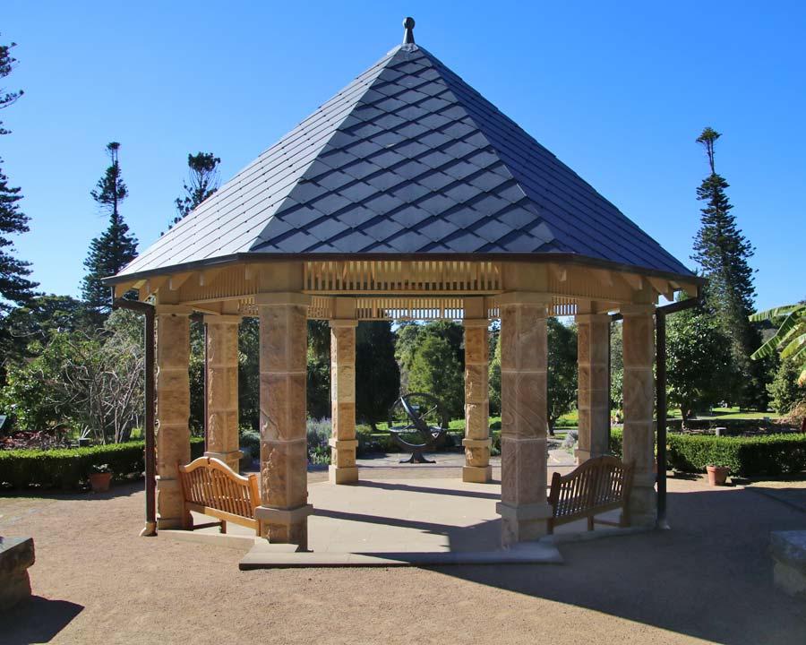 Sydney Botanic Garden, the Herb Garden Gazebo