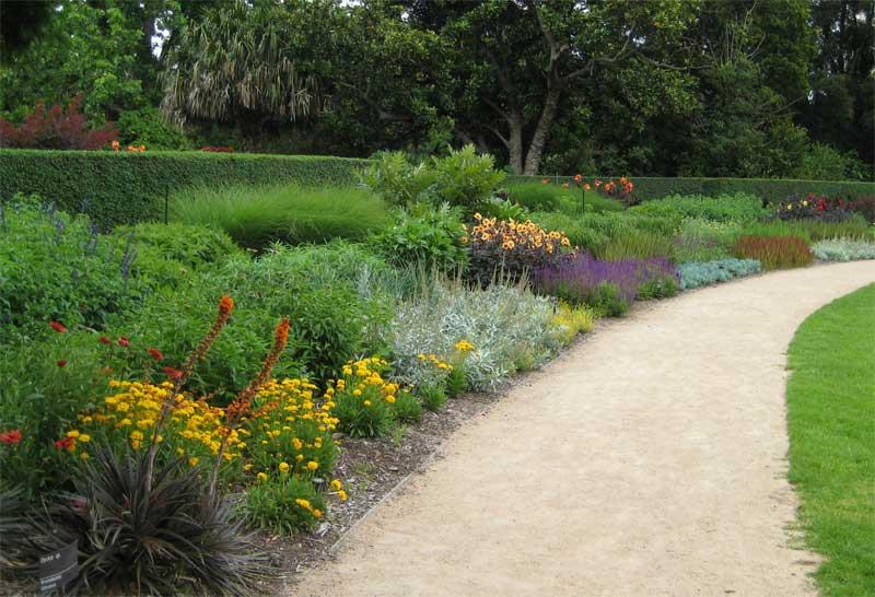 Cottage garden flower beds - Royal Botanic Gardens Melbourne