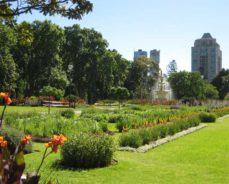Royal Botanic Gardens Melbourne  Just across the Yarra from the CBD