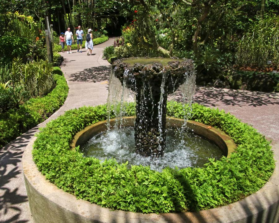 Singapore Botanic Gardens Fountain