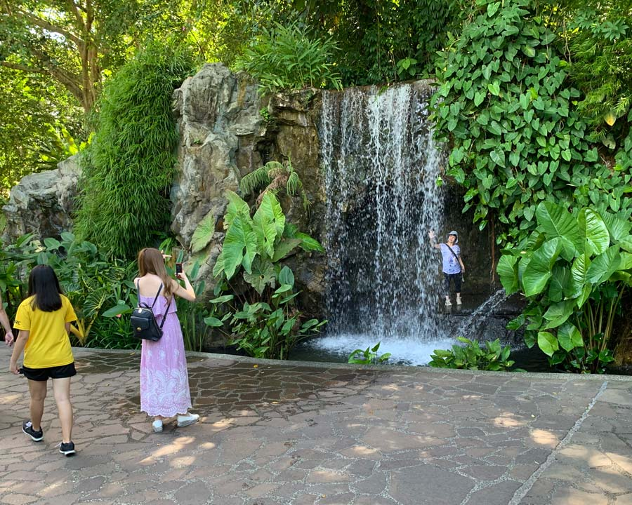Singapore Botanic Gardens, Waterfall