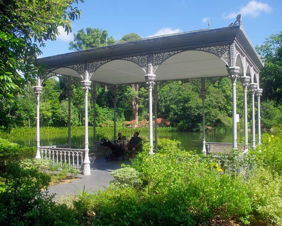 Singapore Botanic Gardens - Swan Lake Gazebo