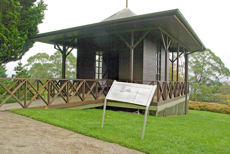 Northern Pavilion, Heath Garden - Blue Mountains Botanic Garden Mount Tomah
