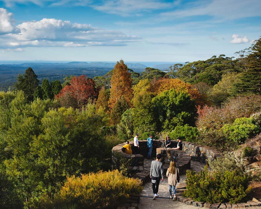 Mount Tomah Botanic Gardens - The Spiral