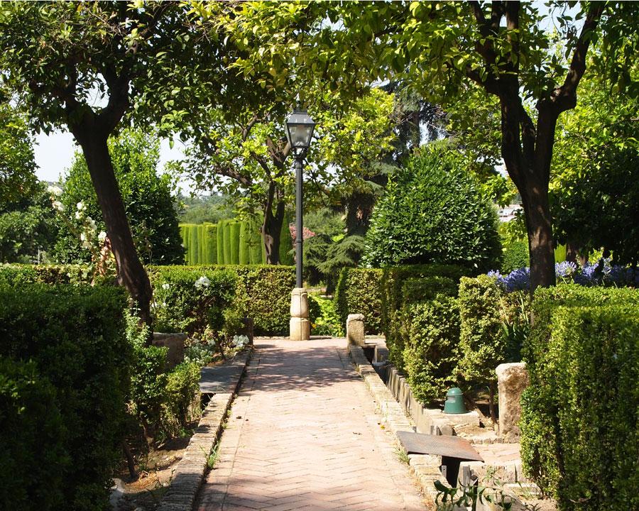 Alcazar gardens, Cordoba.