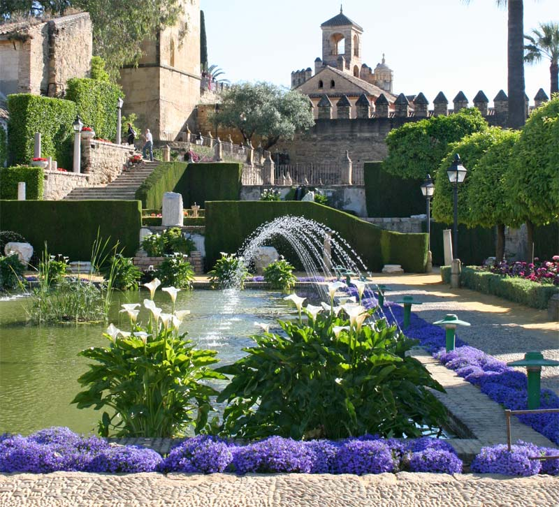 Alcazar Gardens - architecture and plantlife, wherever you look. photo Jill Triay