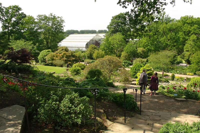The rockery was the first development after the land had been gifted to the RHS - Wisley RHS