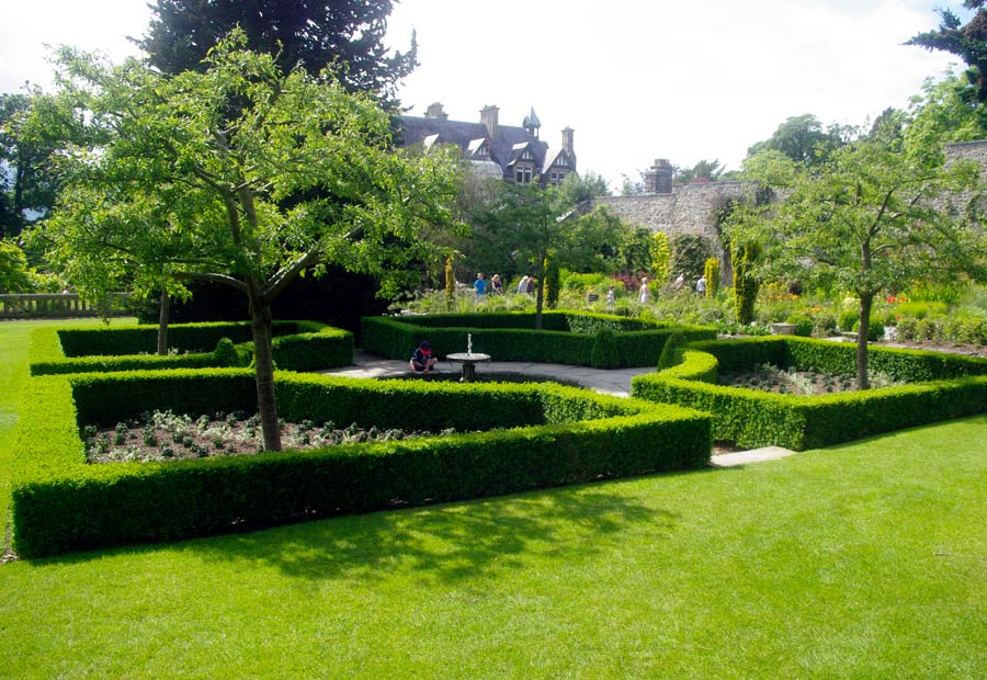 Bodnant Gardens, Conwy, North Wales -  East Garden