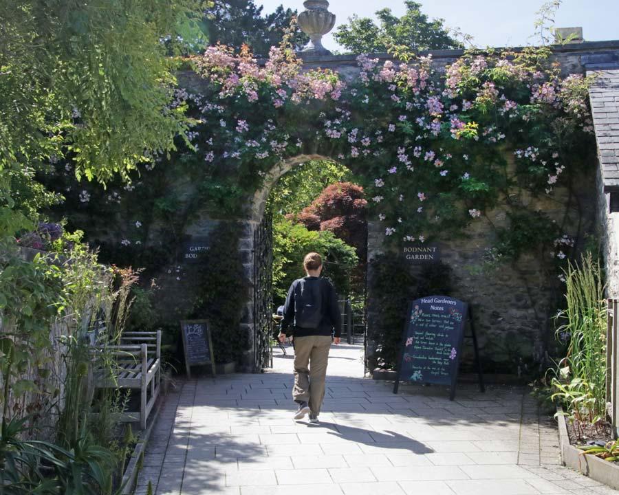 Bodnant Gardens Entrance
