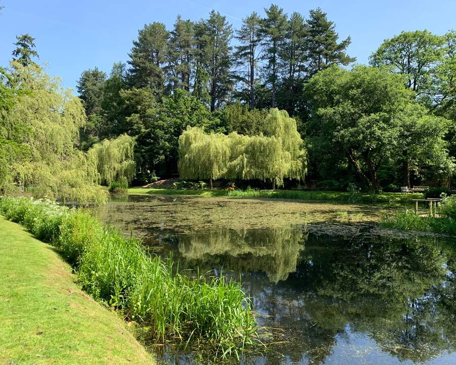 Bodnant Gardens, Conwy, North Wales - Skating Pond