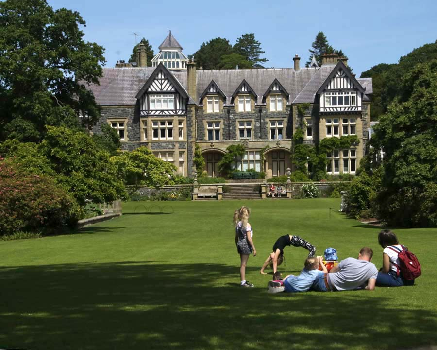 Bodnant House and Gardens, Conwy, North Wales, UK