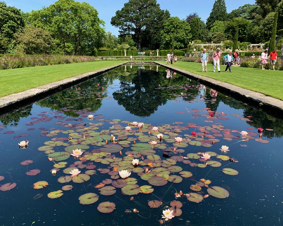 Bodnant Gardens, Conwy, North Wales - The Pin Mill Pond