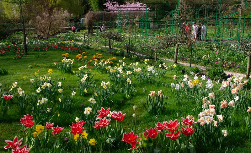 Always artfully planted - Giverny - Monet's Garden