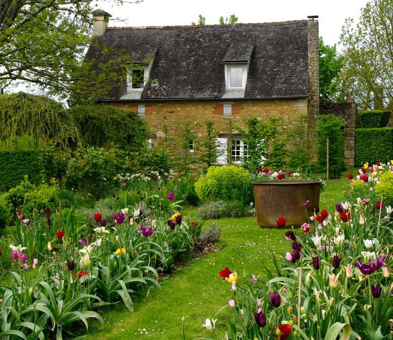 le jardin fleuriste les jardins du manoir deyrignac - Jardin D Eyrignac