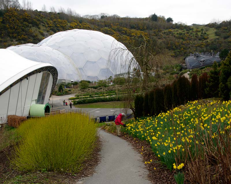 The Outdoor and Mediterranean Biomes - Eden Project