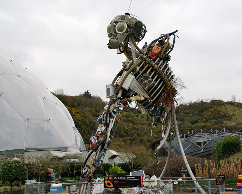 WEEEman Sculpture - Eden Project